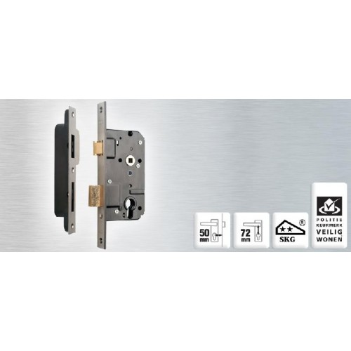 NEMEF VEILIGHEIDSLOT (SET) 4139/17-50MM+ VS4000 LINKS/RECHTS