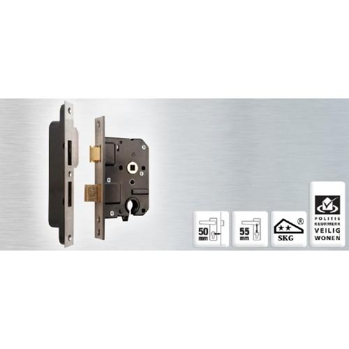 NEMEF VEILIGHEIDSSLOT (SET) 4119/17-50+VS4000 RECHTS/LINKS