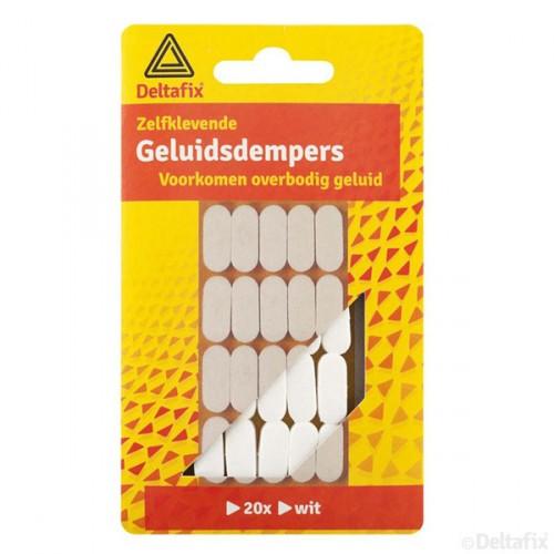 GELUIDDEMPERS WIT 20 ST.