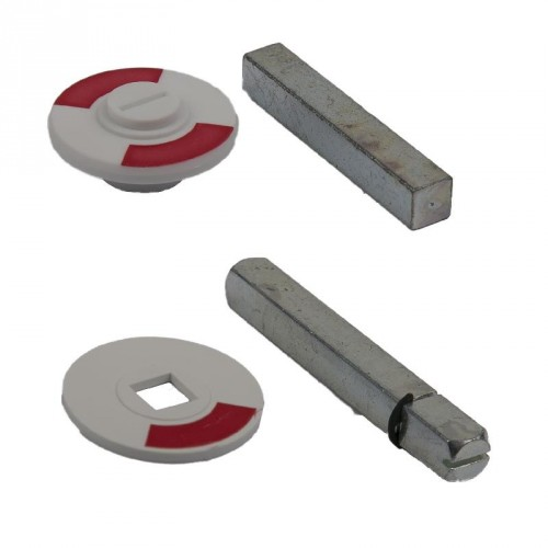 ROOD/WIT PLAATJE 8 MM STERGAT
