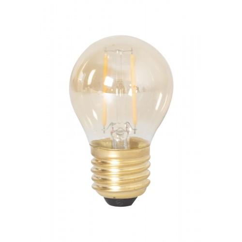 2w 130lm Calex Led E27 240v Volglas P45Goud Filament Kogellamp 80mvNPynwO