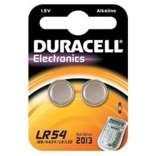 DURACELL LR54 ALKALINE1,5V BLS/2