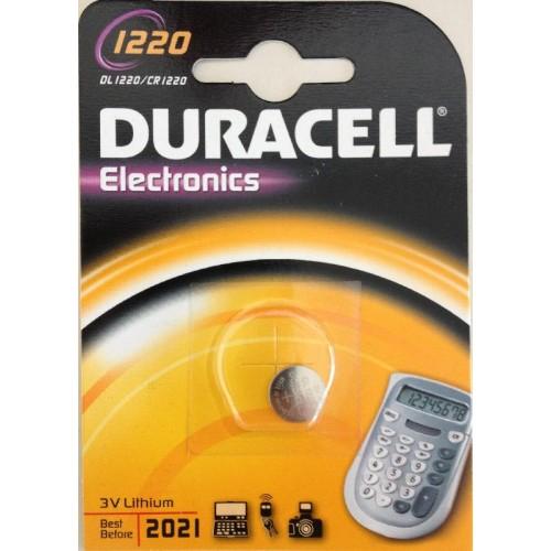 DURACELL 1220/CR1220 LITHIUM 3 VOLT BP1