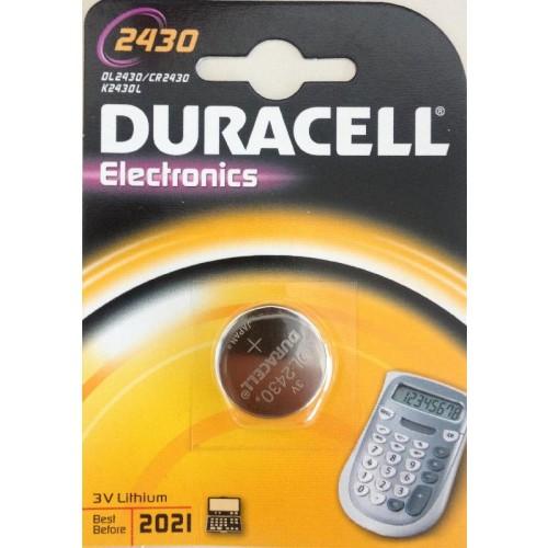 DURACELL 2430/CR2430 LITHIUM 3 VOLT BP1