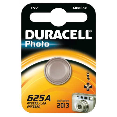 DURACELL 625A PHOTO ALKALINE 1,5 VOLT BP1