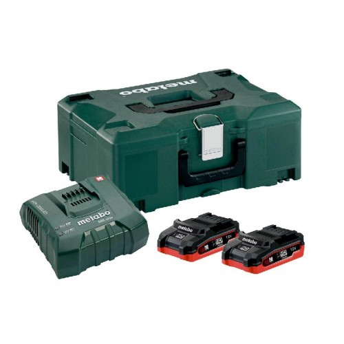 METABO BASIS SET 18 V: 2 X LIHD 3.1 AH, ASC ULTRA IN METALOC