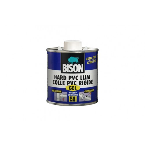 HARD PVC LIJM GEL 250ML BISON