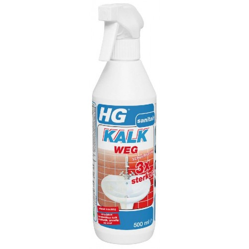 HG KALKWEG SCHUIMSPRAY 3X STEKKER 500 ML