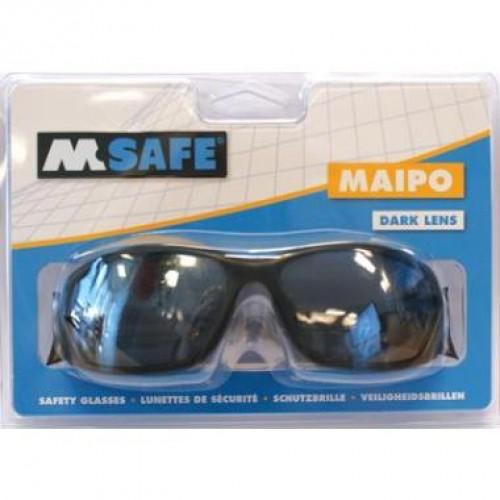 M-SAFE V-BRIL MAIPO DONKERE LENS BLISTER