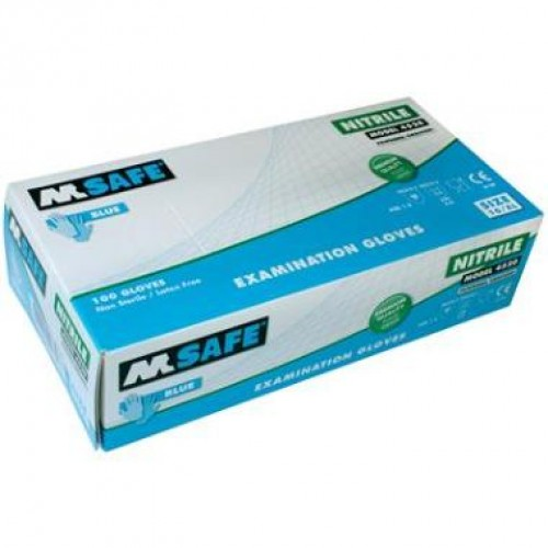 M SAFE 4520 DISPOSABLE NITRIL HANDSCHOEN