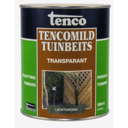 TENCO TENCOMILD TUINBEITS TRANSPARANT LICHTGROEN 1L