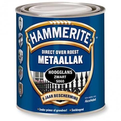 HAMMERITE HOOGGLANS ZWART 750ML