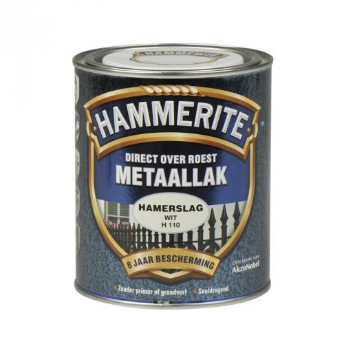 HAMMERITE HAMERSLAG WIT 750ML