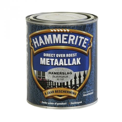 HAMMERITE HAMERSLAG ZILVERGRIJS 750ML
