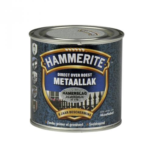 HAMMERITE HAMERSLAG ZILVERGRIJS 250ML