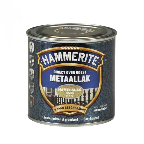 HAMMERITE HAMERSLAG GOUD 250ML