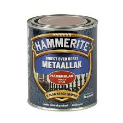 HAMMERITE HAMERSLAG ROOD 250ML