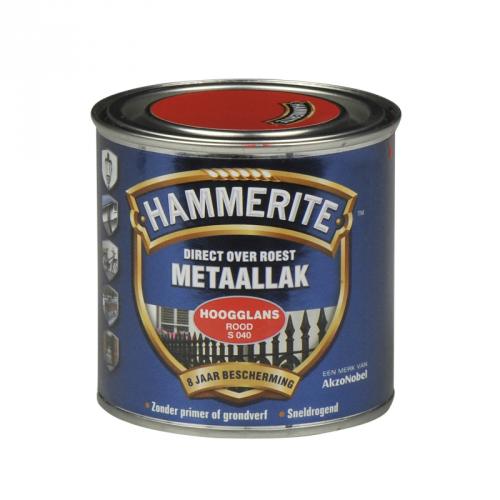 HAMMERITE HOOGGLANS ROOD 250ML