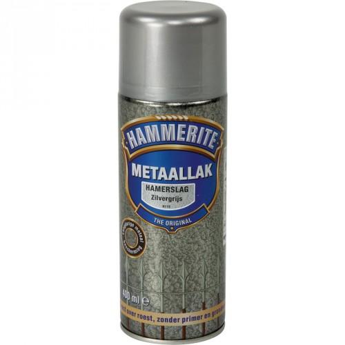HAMMERITE HAMERSLAG ZILVER GRIJS 400ML