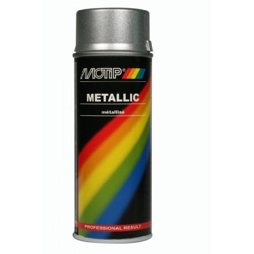 MOTIP METALLIC LAK ZILVER 400 ML