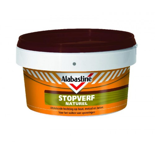 ALABASTINE STOPVERF NATUREL 500 GR