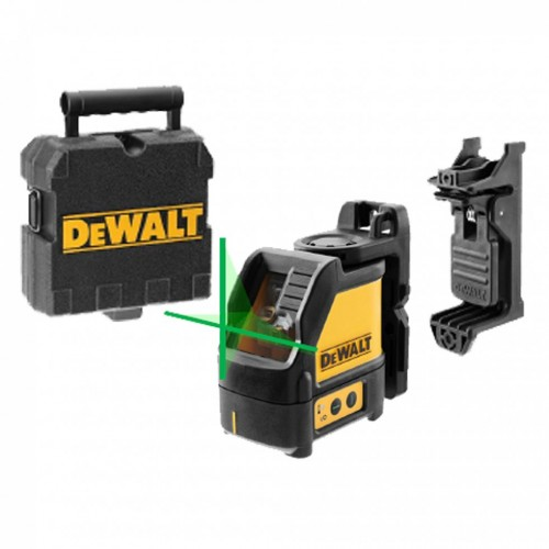 DEWALT GREEN BEAM CROSS LINE LASER