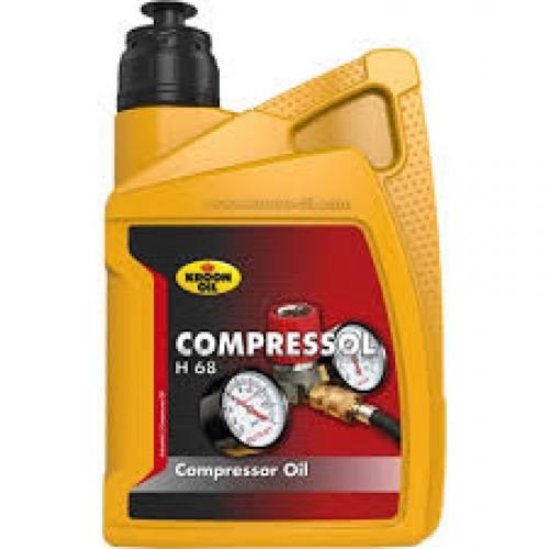 KROON COMPRESSOR OLIE COMPRESSOL H 68 1 L FLACON