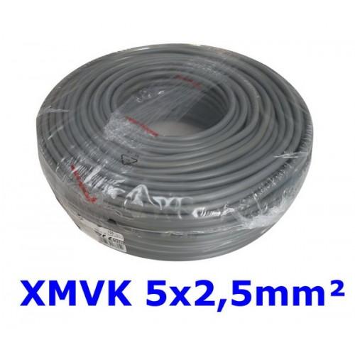 XMVK 5X2.5 RING GRIJS PER METER