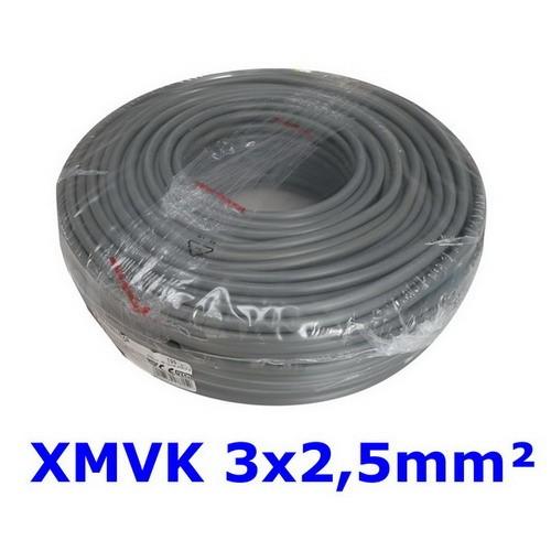 XMVK 3 X 2.5 RING ECA GRIJS PER METER