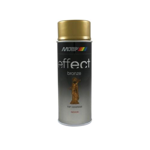 BRONZE EFFECT COLOURSPRAY GOLD 400 ML MOTIP