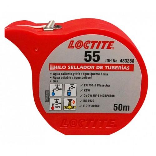 LOCTITE 55 AFDICHTINGSKOORD 50MTR (IN BLISTER)