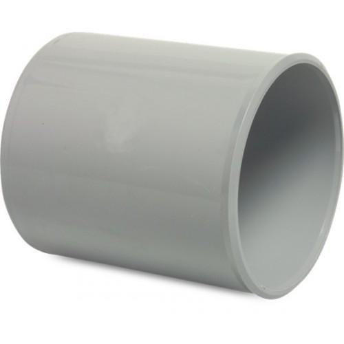 SOK PVC-U 125 MM LIJMMOF GRIJS KOMO