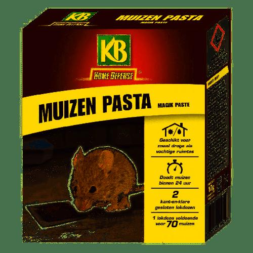 KB MUIZEN PASTA MET LOKSTATION 2 STUKS MAGIK PASTE