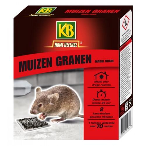 KB MUIZEN GRANEN MET LOKSTATION 2 STUKS MAGIK GRAIN