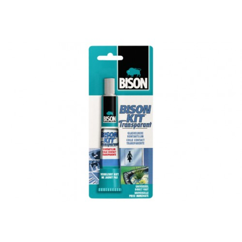 BISON KIT TRANSP 50ML TUBE/KRT BISON