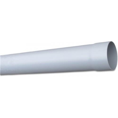 RWA BUIS PVC-U 80 MM X 1,5 MM LIJMMOF X GLAD GRIJS 4M