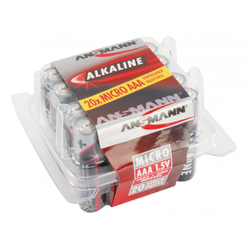 ALKALINE BATTERIJEN BIG FIVE ALKALINE BATTERIJ MICRO AAA / LR03 20 PCS