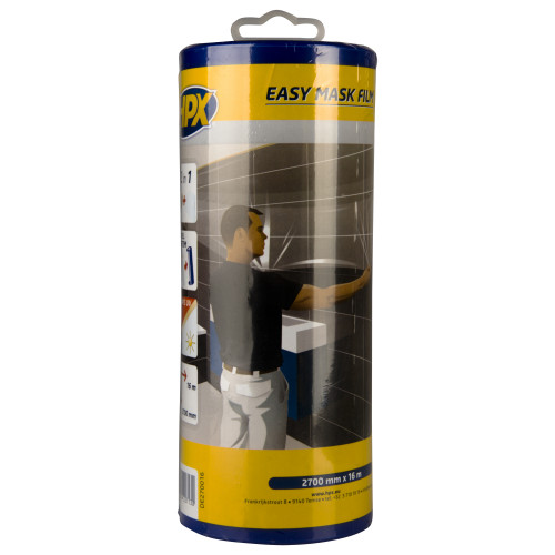 EASY MASK FILM CREPEPAPIER 2700MM X 16M + DISPENSER