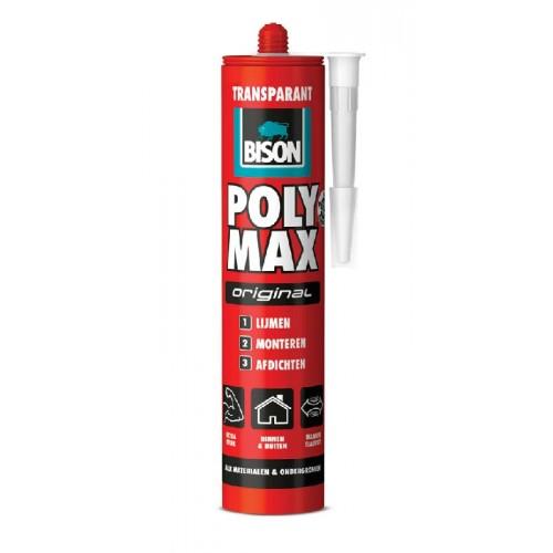 POLY MAX ORGINAL TRANSPARANT 300G BISON