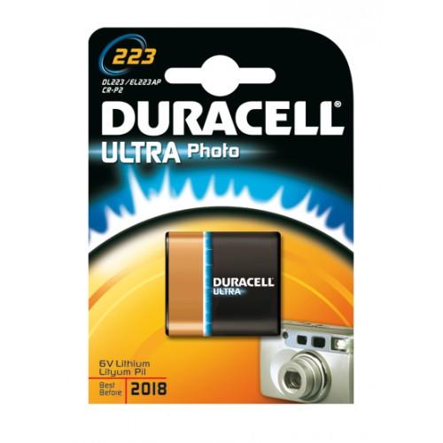 DURACELL ULTRA M3 223A/CR-P2P LITHIUM 6 VOLT BP1
