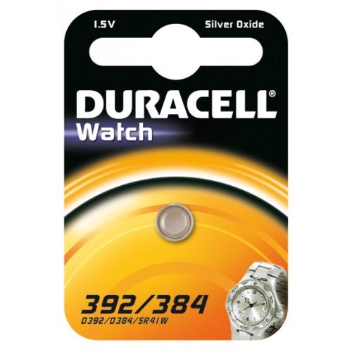 DURACELL 392/384/SR41 SILVER 1,5 VOLT BP1